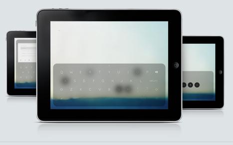 Le traitement de texte à l'heure des interfaces tactiles | ACTU DES EBOOKS | Scoop.it