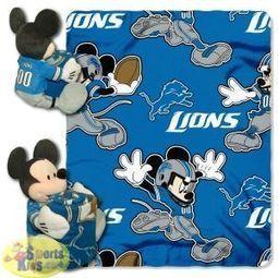 NFL Bedding - Detroit Lions Disney Hugger Blanket | NFL Bedding Sets - Sportskids.com | Scoop.it