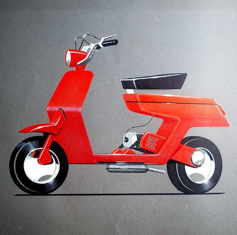 twowheels+: Pio Manzù for Piaggio | Vespa Stories | Scoop.it