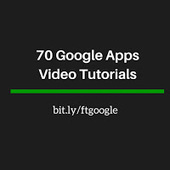 Free Technology for Teachers: 70 Google Apps Video Tutorials | Technology | Scoop.it