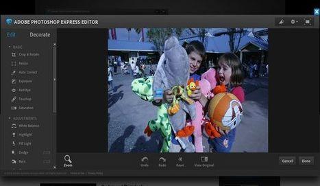 Photoshop Express, retoca y decora tus fotografías con la versión web de Photoshop | Aprendiendoaenseñar | Scoop.it