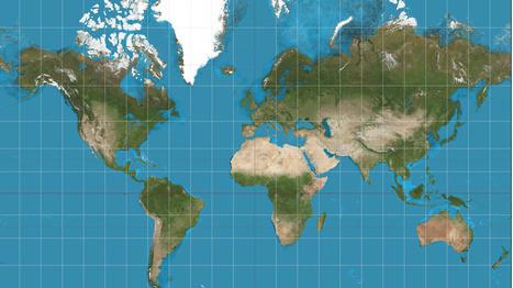 Gerardus Mercator: por culpa de este señor, Europa se cree el ombligo del mundo   textoscríticos.net   Scoop.it