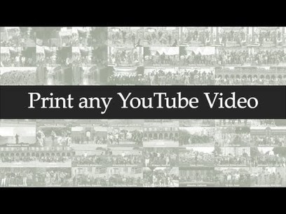 Do you want to Print a YouTube Video? | Videos for the Classroom | Scoop.it