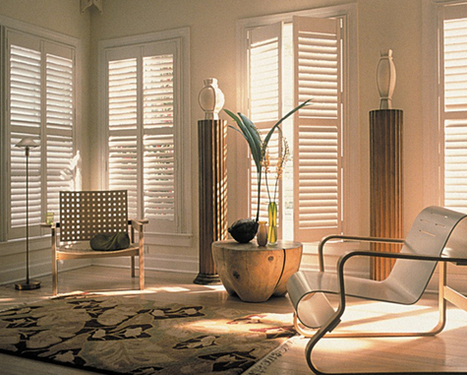 Give an Elegant Touch to Your French Doors with Modern Shutters | Full Height Shutters | Scoop.it