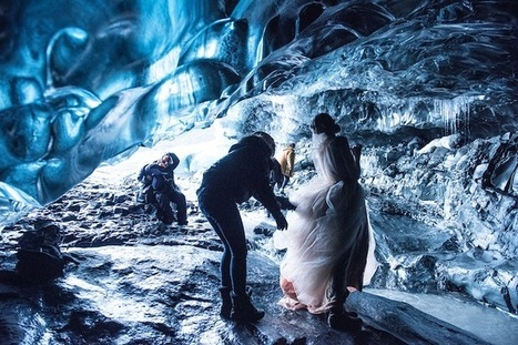 Behind the Scenes of Glamorously Surreal Ice Cave Photos by Miss Aniela | ART  | Conceptual Photography & Fine Art | Scoop.it