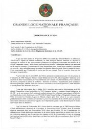 Servel suspend Stifani de la GLNF : le document - L'Express | Lumière sur la GLNF | Scoop.it