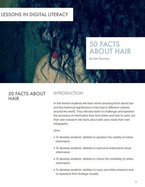 50 Facts about Hair - Lessons in Digital Literacy | tools for learning and teaching | Scoop.it