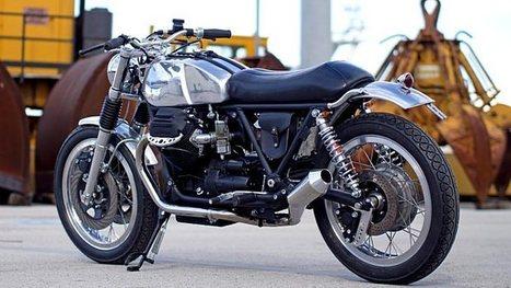 Officine Rossopuro Creates the Metallica Moto Guzzi [Photo Gallery] - autoevolution   Moto Guzzi   Scoop.it