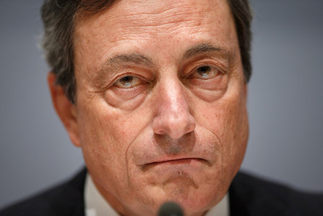 Draghi: ECB 'comfortable with acting next time' | Eurozone | Scoop.it