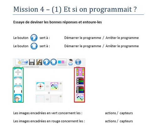 IniRobot : robotique et programmation à l'école primaire | REL 2014 de CD | Scoop.it