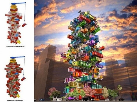 "Shipping container ""cargotecture"" not all it's stacked up to be! - Green Prophet 