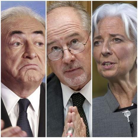 Rato, Strauss Kahn y Lagarde: los tres mandamases del FMI al filo de la ley   Política & Rock'n'Roll   Scoop.it