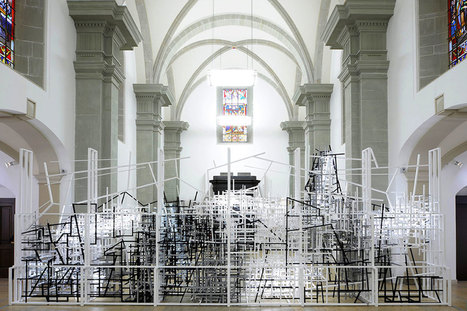 Clement Bagot: Crossing space | Art Installations, Sculpture, Contemporary Art | Scoop.it