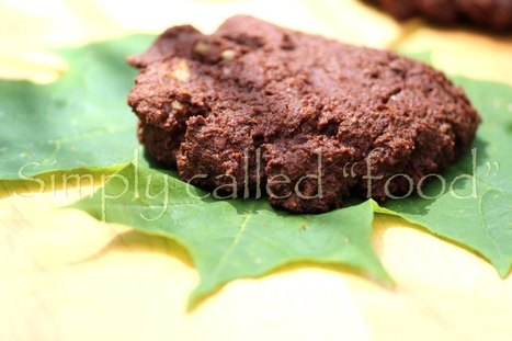 Gluten free chocolate and espresso cookies | Photography | Scoop.it