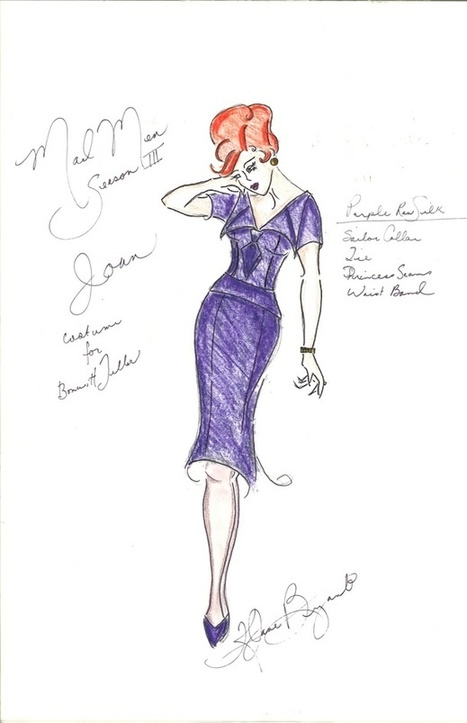 Go Behind the Styles With Mad Men's Emmy-Nominated Costume Designer - Smithsonian (blog) | Sartorialist Chris | Scoop.it