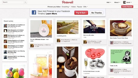 News tips for Pinterest | Social Media and Journalists | Scoop.it