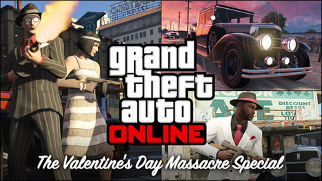 Coming this Friday: The GTA Online Valentine's Day Massacre Special   Rockstar Games   Random   Scoop.it