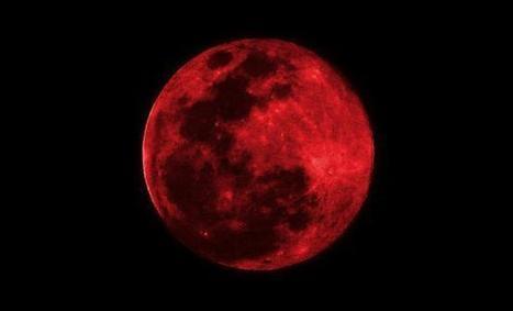 Consejos para fotografiar la espectacular «Luna roja» que podremos observar durante el eclipse total de mañana | Fotografía y diseño gráfico profesional | Scoop.it