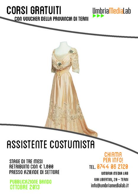 Corso di Assistente Costumista - Umbria Media Lab   Corsi di formazione a Terni   Scoop.it