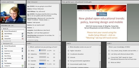New global open education trends: policy, learning design, mobile @gconole | Virtual Cluster Initiative | Scoop.it