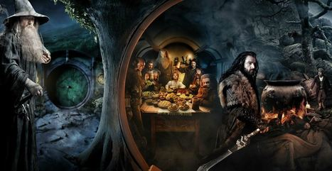 'The Scroll' From 'The Hobbit: An Unexpected Journey': First Look! | the Gonzo Trap | Scoop.it
