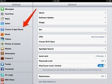 iPad Tips: How to Change Your iTunes Store Location - .macmight | Learning & iPads | Scoop.it