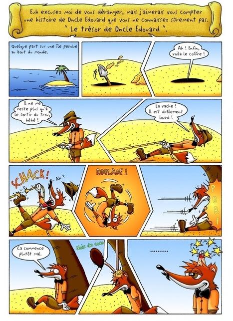 Hippolyte et ses amis-BD en ligne | FLE enfants | Scoop.it