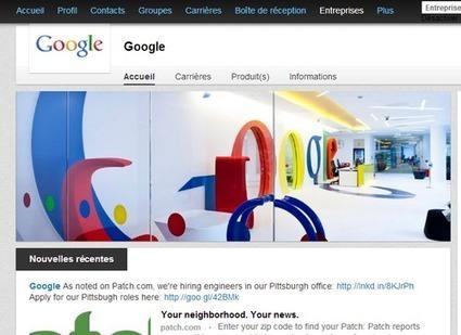 LinkedIn : créer et animer une page d'entreprise | Webmarketing tools | Scoop.it