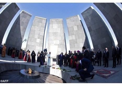 Druhý deň pápeža v Arménsku: pamiatka obetí genocídy i zemetrasenia | Správy Výveska | Scoop.it