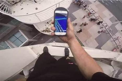 Il escalade l'immeuble le plus haut de Barcelone pour capturer un Pokémon | Neige et Granite | Scoop.it