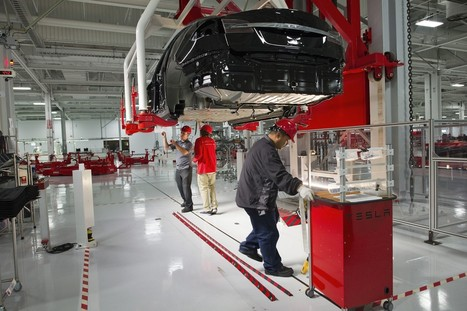 Tesla is now most important automaker in world, Morgan Stanley says | Transportation Station | Scoop.it