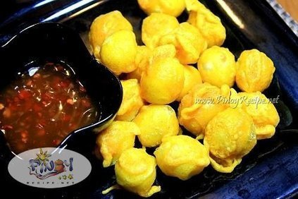 Kwek Kwek Recipe (Tukneneng) a pinoy delicacy made of quail eggs and some orange batter. | Delicious Filipino Foods | Scoop.it
