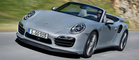 Nuevos 911 Turbo y Turbo S Cabriolet | motor | Scoop.it