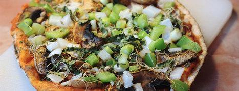 Fast Pizza - Plant-Based Vegan Recipe | Vegan Food | Scoop.it