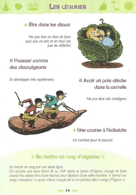 Expressions sur les légumes | En français, au jour le jour | Scoop.it