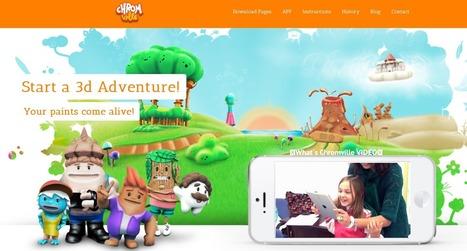 Crea y aprende con Laura: @Chromville. App juego de realidad aumentada con dibujos que cobran vida | Ideas y recursos tic para el aula | Scoop.it