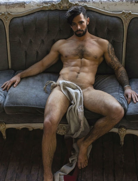 """Charlie King for Attitude Magazine """"The Only Way Is Essex""""   Hairy Hunks   Scoop.it"""