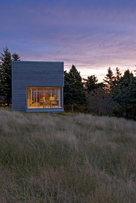 Warm minimalism for serene spa pavilion in Nova Scotia | sustainable architecture | Scoop.it