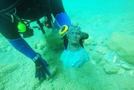 Divers discover 1,600-year-old shipwreck in Israel | Museum & heritage news - Actualités & découvertes musées et patrimoine | Scoop.it
