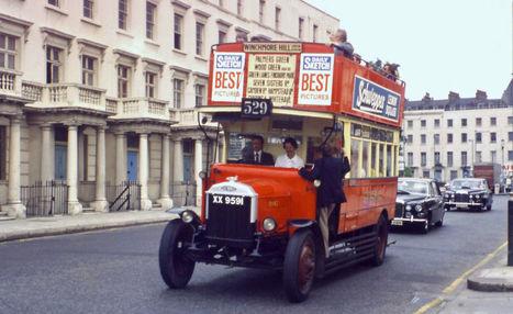 Un Uber para autobuses suplió al transporte público de Londres tras la I Guerra Mundial. Noticias de Tecnología | Debate Formativo | Scoop.it