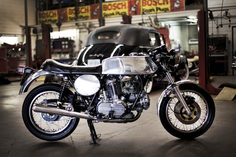 Staghead Moto custom workshop | Cafe Racers | Scoop.it