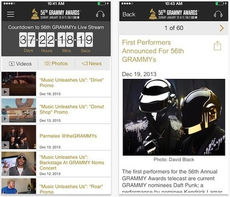 Rdio, Spotify, and The Grammys… - Digital Music News | Classical and digital music news | Scoop.it