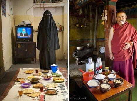 Mira lo que come la gente común en otra partes del mundo | Las TIC en el aula de ELE | Scoop.it