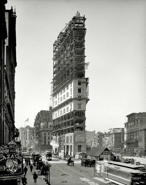 david: Under construction, Times Square 1903 | histoire | Scoop.it