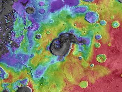 Image of the Day: The Ancient Supervolcanos of Mars | Ciencia-Física | Scoop.it