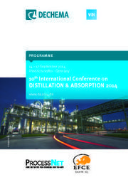 The Maleta cyclic distillation LLC at the conference Distillation and Absorption 2014 showed pilot distillation column in cyclic operation | Distillation Column | Scoop.it
