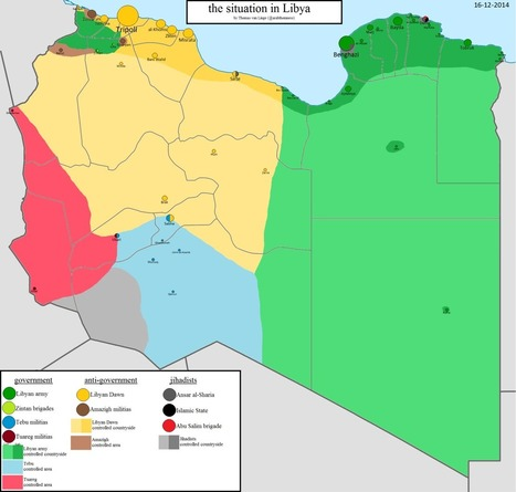 The situation in Libya | Géopolitique & Cartographie | Scoop.it
