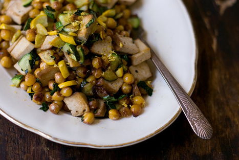 Lemony Chickpea Stir-fry | ¿Vege-Que? Healthy Recipes and Resources | Scoop.it