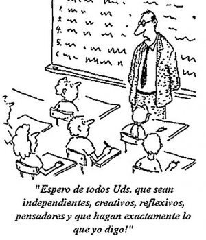 Cómo ser un mal profesor I: 10 sencillos pasos para limitar la participación del alumno enclase | Information Technology Learn IT - Teach IT | Scoop.it