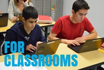 Official Google Blog: Chromebooks for classrooms: $99 for the holidays   AllAboutSocialMedia   Scoop.it
